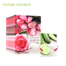 Nature Republic korean Mask Sheet Rose Face Masks Skin Care Moisturizing Oil Control Whitening Facial Mask