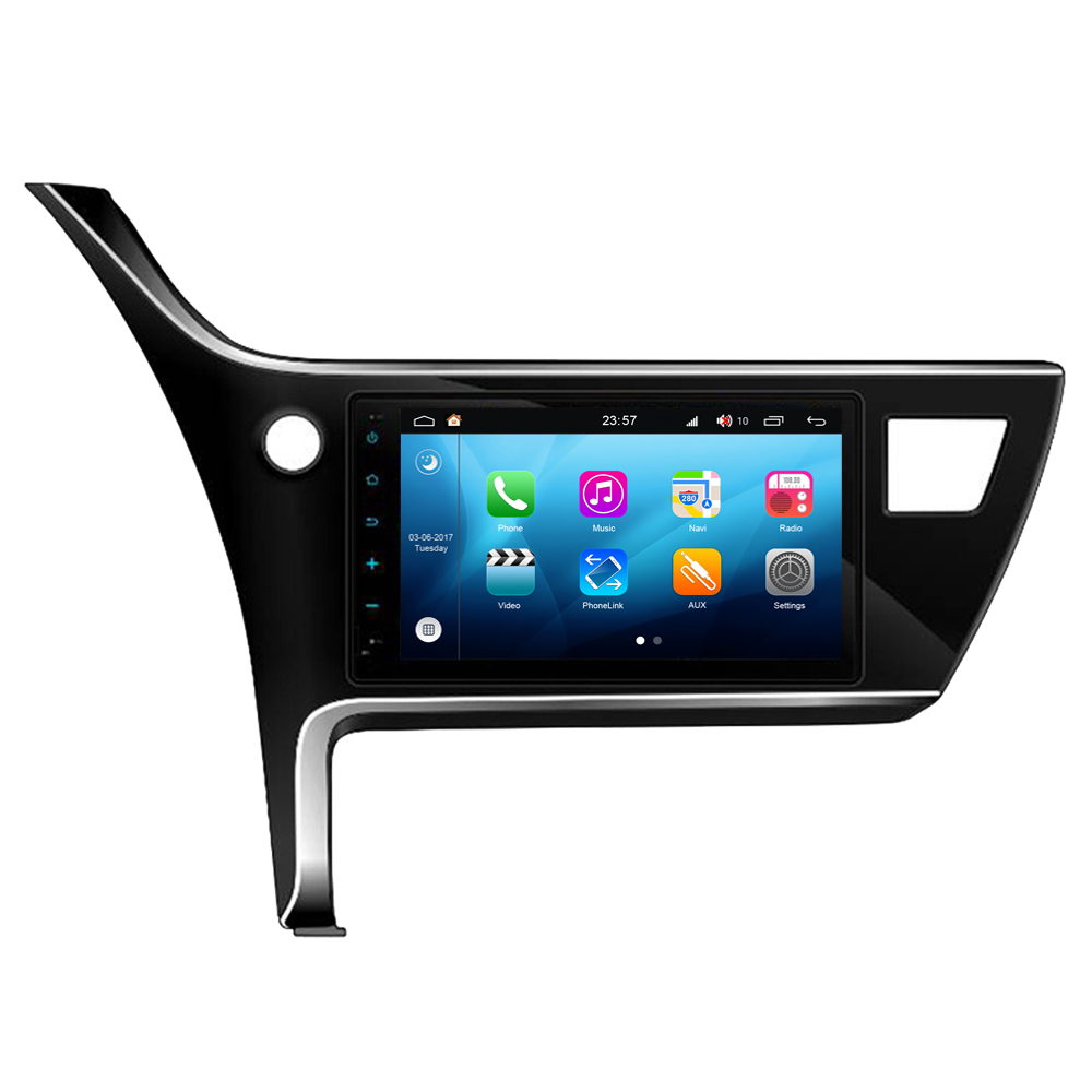 RoverOne Android 8.0 Octa Core Car Radio GPS For <font><b>Toyota</b></font> <font><b>Corolla</b></font> Auris 2018 <font><b>2019</b></font> Touchscreen <font><b>Multimedia</b></font> Player Stereo Head Unit image