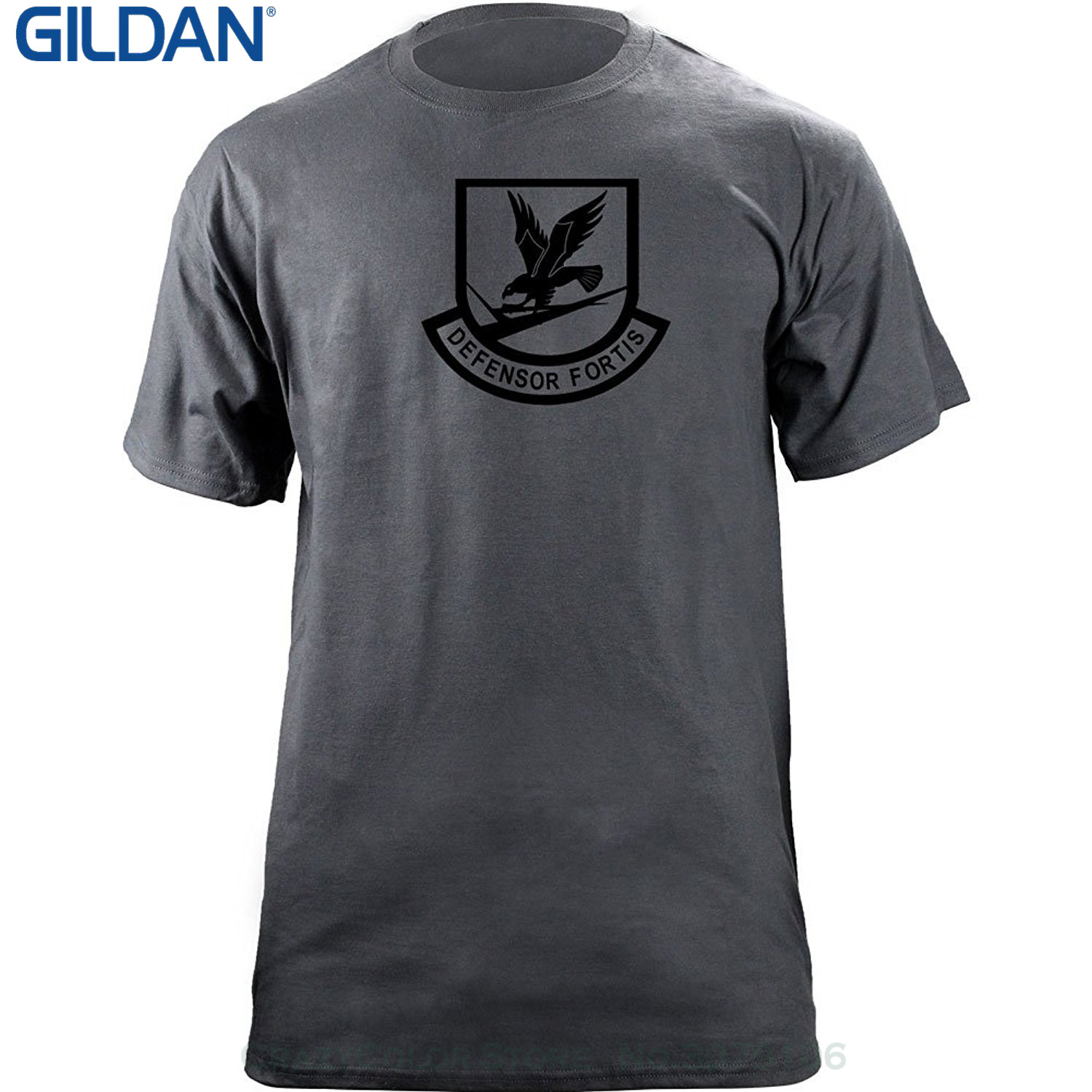 Black t shirt security - Gildan Design T Shirt Men S High Quality Security Force Air Force Subdued Veteran Patch T Shirt