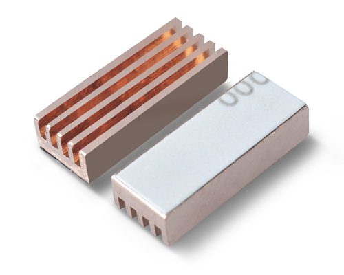 8pcs/lot, copper ram heatsink box graphics card ram heatsink, PcCooler MC-200 image