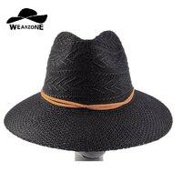 Sıcak Yeni Moda Yaz Casual Kadın Bayanlar Geniş Ağız Plaj güneş Şapka Zarif Kadın Arkadaş Için Straw Disket Bohemia Kap ucuz