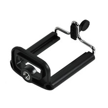 Tripod Phone-Clip-Accessories Phone-Holder Selfie-Stick Black FGHGF for with 1/4inch-Nut