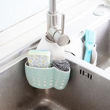 Portable Basket Home Kitchen Hanging Drain Basket Bag Bath Storage Tools Sink Holder Kitchen Accessory