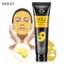IMAGES Gold Remove Blackhead Mask Shrink Pore Improve Rough Skin Acne Shills Remover Facial Moisturizing Cream
