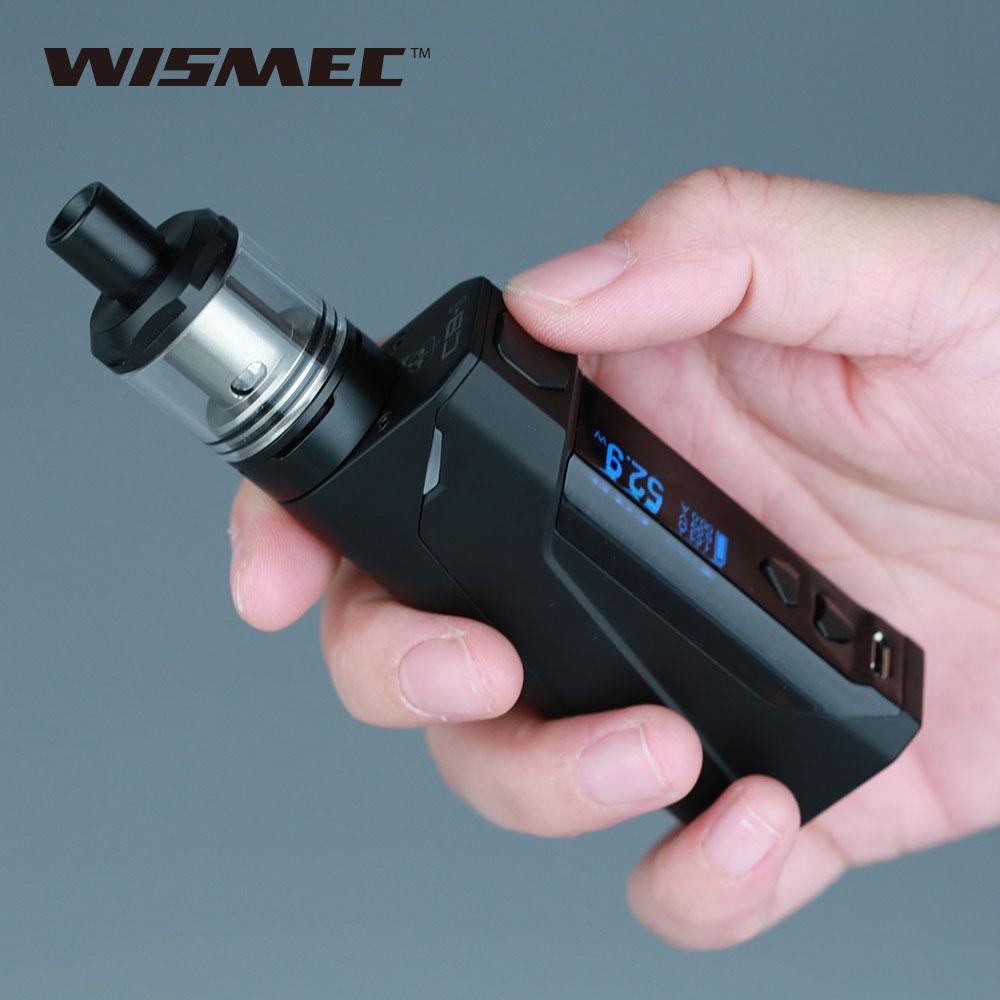 Kit d'origine WISMEC CB-60 VW avec réservoir Amor NS 2 ml/4 ml batterie 2300 mAh intégrée et bobine MTL 1.5ohm saveur de bon goût Kit e-cig Vape