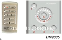 Free Shipping DMX Wireless Dimmer IR REMOTE And Touch Wall Switch Control SELF SIGNAL GENERATION 1CH