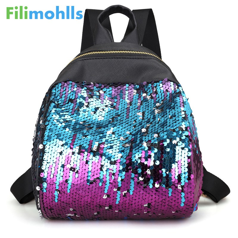 High Quality Rivet Female Shoulder Bag PU Leather Backpacks School Bags For Girls Women Bag Women Backpacks Fashion Bags S1306
