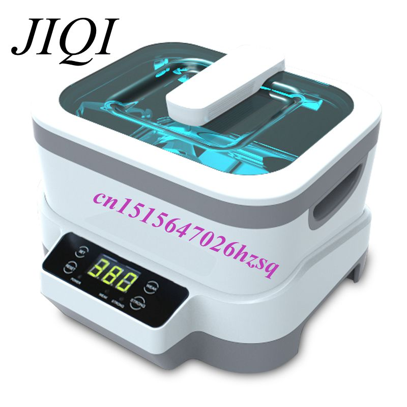 JIQI High quality digital Ultrasonic Cleaner 110/220V household commercial cleaning machine 1.2L 75W 30l yl 100s 600w ultrasonic cleaner for household cleaning dishwasher metal parts 110v 220v