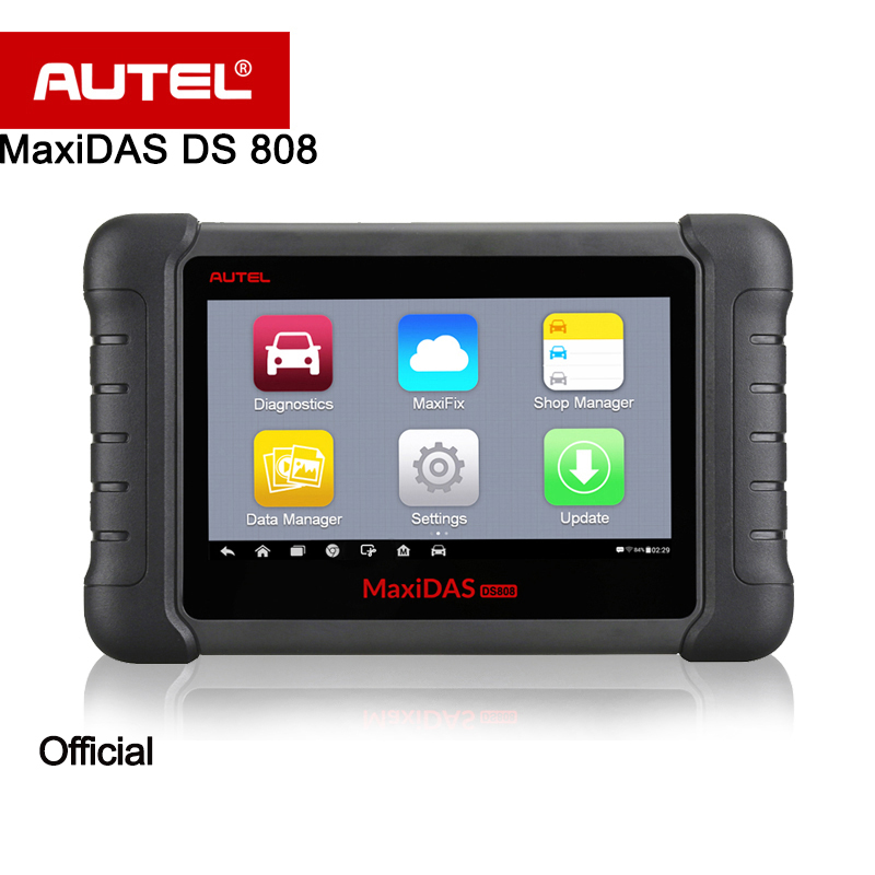 Autel MaxiDAS DS808 Automatic Diagnostic Scanner Smart AutoVIN technology 1 Year Worry Free Update