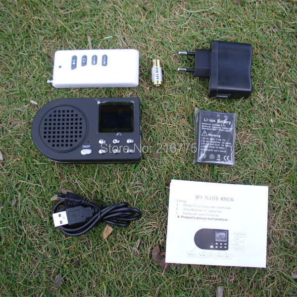 ФОТО Electronics MP3 Bird Caller Predator Birder Hunting Decoy with remote control
