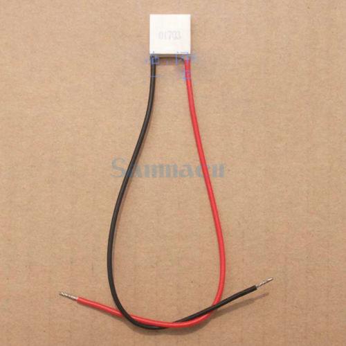 15x15mm TEC1-01703 Heatsink Thermoelectric Cooler Peltier Cooling Plate  Refrigeration Module