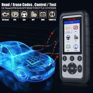 Image 3 - Autel MD806PRO Car Diagnostic Diagnostic AutoTool OBD2 Scanner Full System Code Reader better than LaunchX431 Autel MD805/MD802