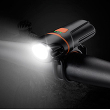 Patented product! Bright LED 6 modes USB Rechargeable Mini Front Bicycle Light