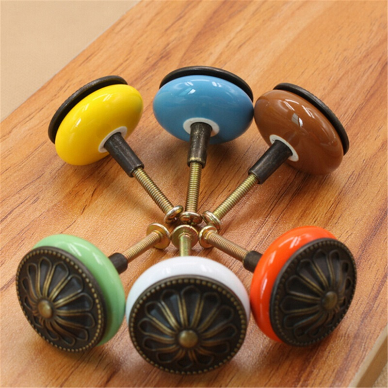 1pcs Door Drawer Knob Round Antique Copper Ceramics Cabinet Cupboard  Kitchen Pull Handle Furniture Hardware HandlesOnline Buy Wholesale Oak  Drawer Knobs  Door Fixtures Uk   DIYHD 10ft Top Mount Double Sliding Barn Door  . Oak Cupboard Door Knobs Uk. Home Design Ideas