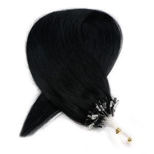Neitsi Straight Loop Micro Ring Hair 100% Human Micro Bead Links Machine Made Remy Hair Extension 16
