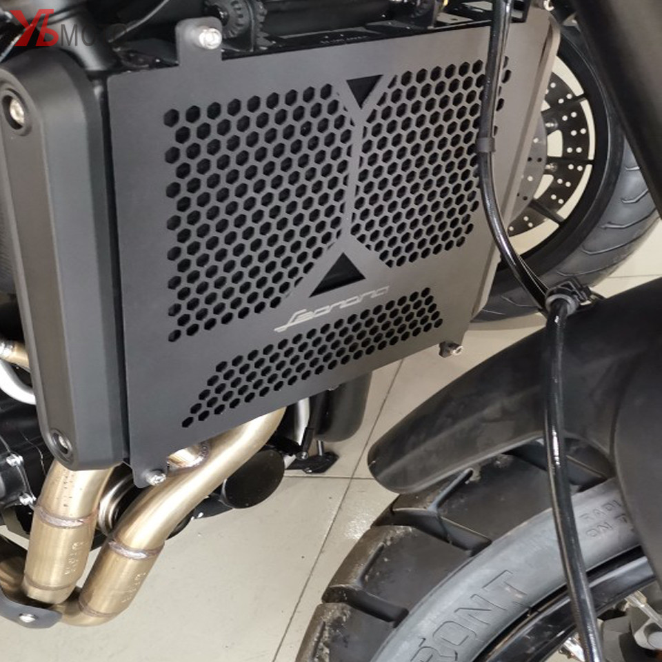 Motorcycle Radiator Side Guard Grill Grille Cover Protector For Benelli Leoncino 500 Leoncino500 Leonine LeonineX 2016-2017Motorcycle Radiator Side Guard Grill Grille Cover Protector For Benelli Leoncino 500 Leoncino500 Leonine LeonineX 2016-2017