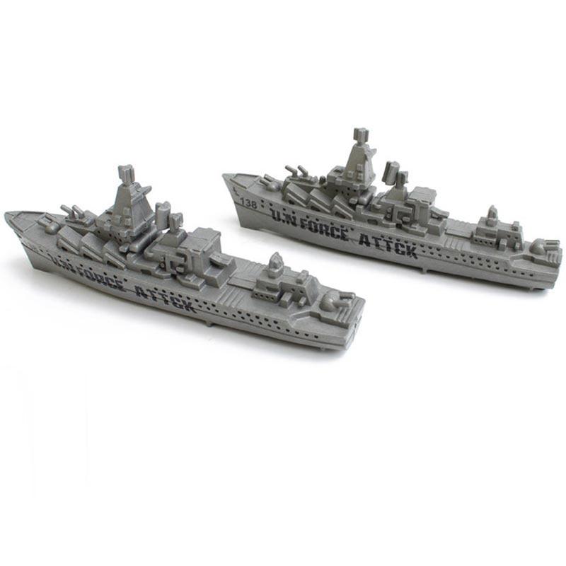 1db / készlet Repülőgép-hordozó csatahajó Szürke romboló katonai háborús jelenet tengeri felszerelés alkatrész tartozékok Katonai modell