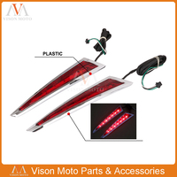 Rear Saddlebag LED Brake Tail Accent Light For Victory Cross Country Tour Magnum 2010 2017 Hard Ball 2012 2013 Cross Roads 10 14