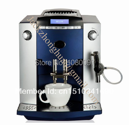 Automatic Italian Espresso Coffee Machine,Latte Coffee Maker+LCD+10 languages function-in Coffee ...