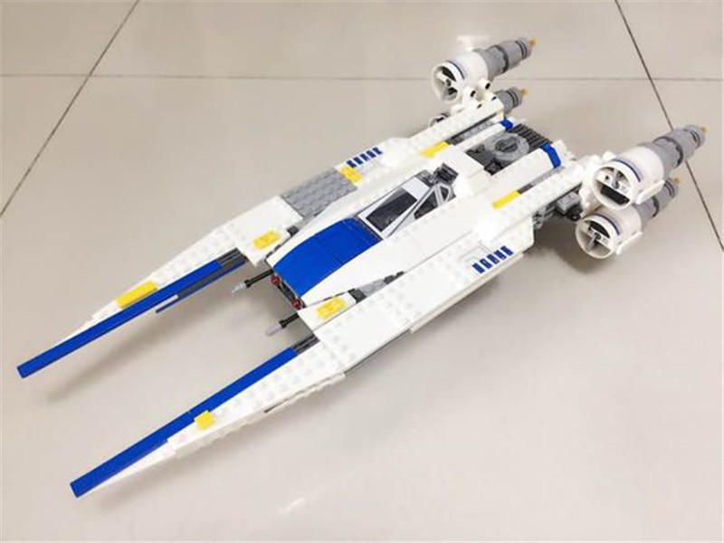 New 679pcs Lepins Genuine Star Series The U- Fighter Wing Set Compatible Classic Building Blocks Bricks Toys Figures Wars hot sale building blocks assembled star first wars order poe s x toys wing fighter compatible lepins educational toys diy gift