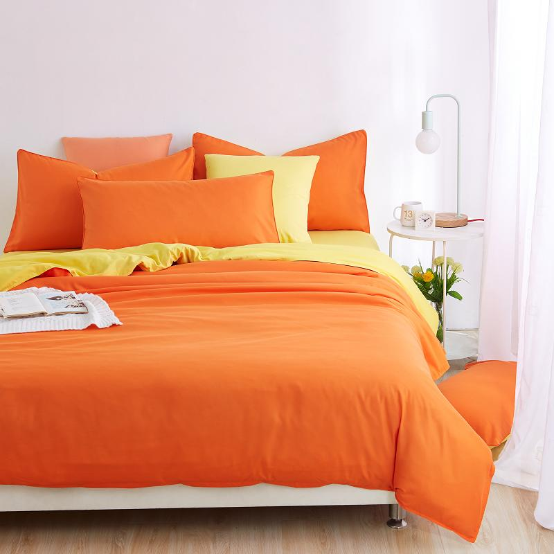 10 Colors Colorful Solid Bedspread King Size Queen Full