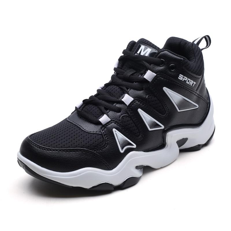 Haute Chaussures Respirant Noir Des rouge Absorption Hommes Mode En Chocs 2018 Tendance forme Air Automne blanc Plate De Plein Nouveau Casual xXnCqF4