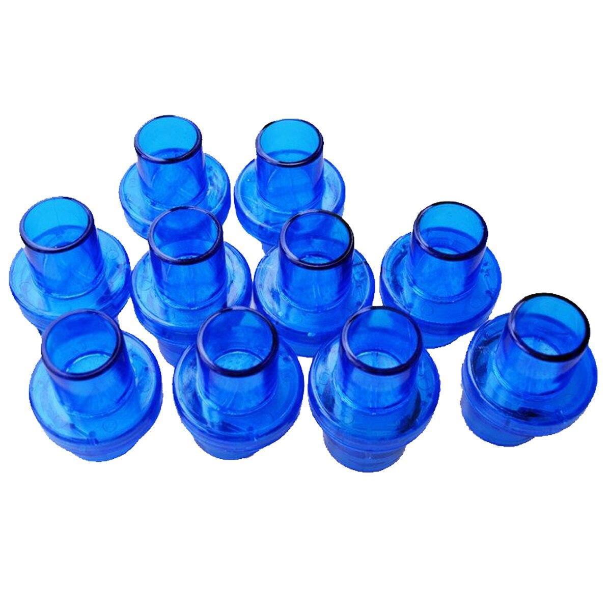 100 шт./упак. КПП обучение маска клапан с односторонним клапан w/фильтр первой помощи спасения практике устройство Цвет синий диаметром 22 мм