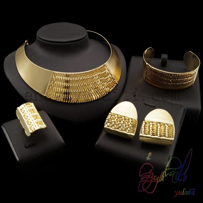 pakistani artificial bridal jewelry sets simple copper jewelry set High quality kundan jewellery