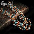 Специальный новинка естественные ожерелья и кулоны богемный слой макси Neckalce старинные ювелирные изделия подарки для женщин XL160313