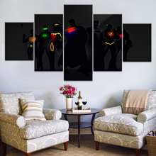 5 Piece Canvas Art Super Hero Posters And Prints Wall Art Canvas Painting Home Decor Wall Pictures Modular Painting Movie Poster canvas painting poster colourful leaf trees 4 piece painting wall art modular pictures for home decor wall art picture painting