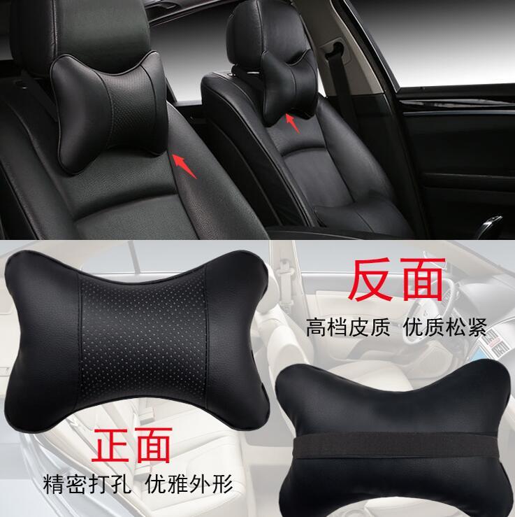 Car Headrest Pillow Neck For Audi A3 A4 B6 B7 A6 C5 BMW E46 E39 E60 E90 Toyota Corolla Avensis Yaris Nissan Qashqai Accessories