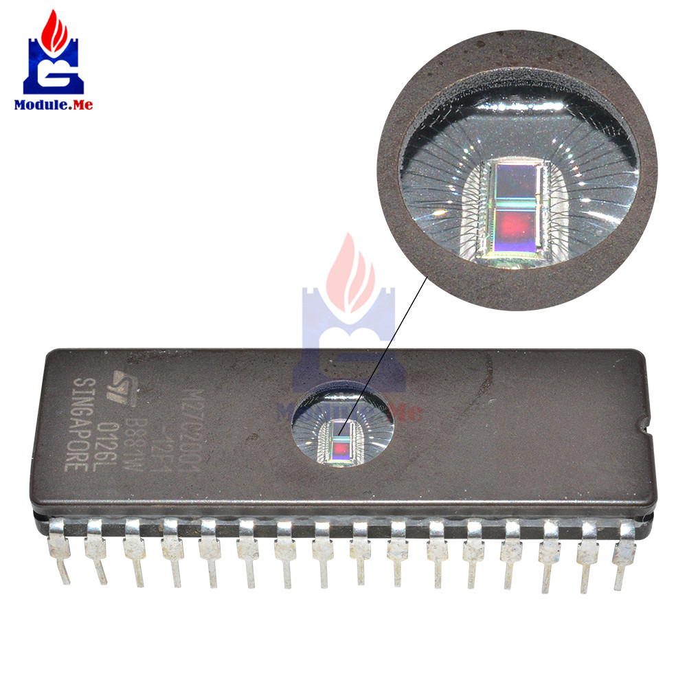 10 PCS/Lot IC Chips M27C2001-12F1 M27C2001 EPROM UV 2M Bit 32CDIP Original Integrated Circuit