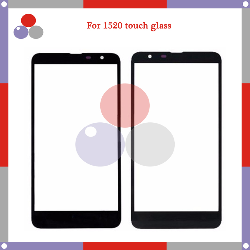 10pcs/lot High Quality For Nokia Lumia 1520 N1520 Touch Panel Glass Front Glass Lens Screen