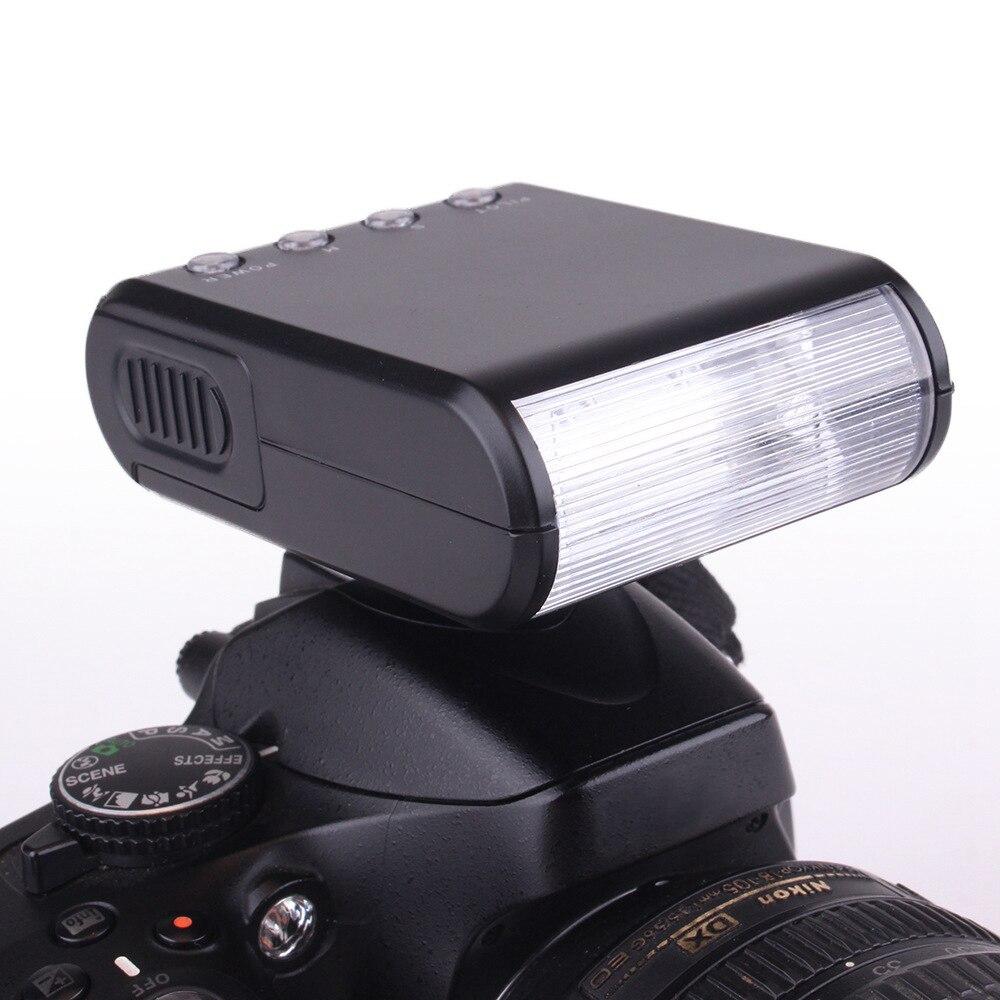 Universal Mini Flash de cámara LED Speedlite linterna para Panasonic GH5L GH5 GH5S GH4 G9L DMC-GX85GK DMC-G85 G9 GX80 GX85 FZ2500