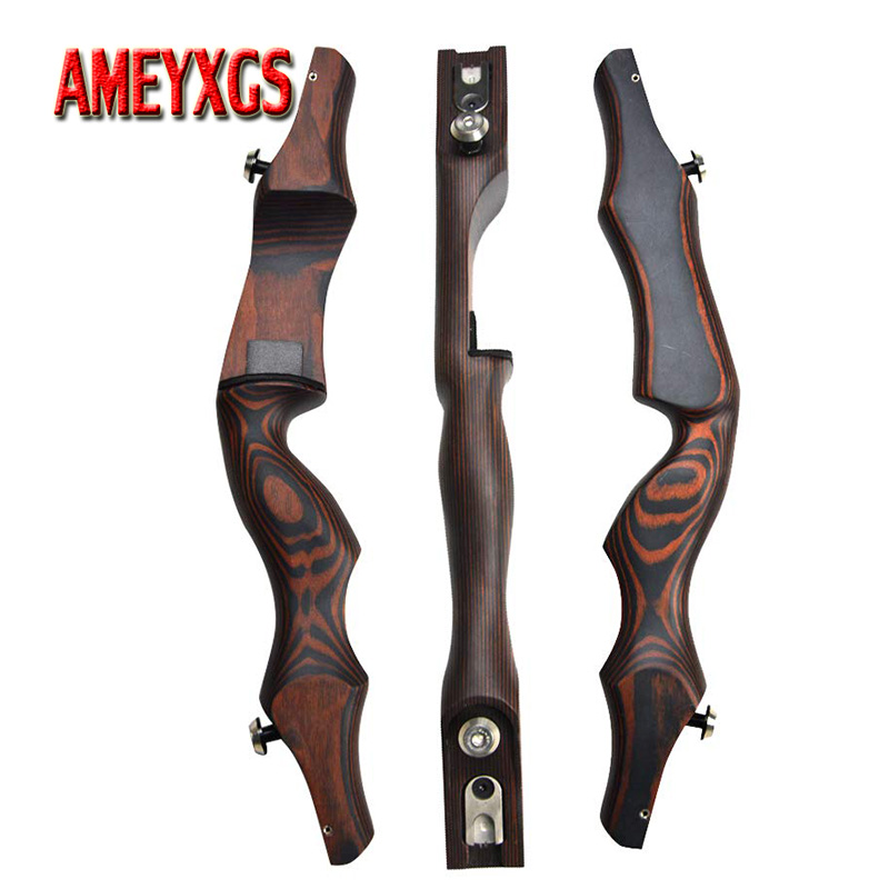 1pc Archery ILF Recurve Bow Riser 19inch Ameriacn Hunting Bow Right Hand Bow Handle Outdoor Shooting Archery Accessories