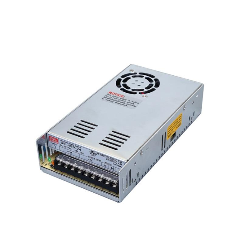 SE-450-24V high power DC switching power supply, waterproof and waterproof недорго, оригинальная цена