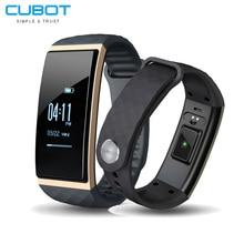 Cubot S1 умный Браслет Bluetooth 4.0 сердечного ритма высота метр термометр сна Мониторы Спорт Смарт-браслет для iOS и Android