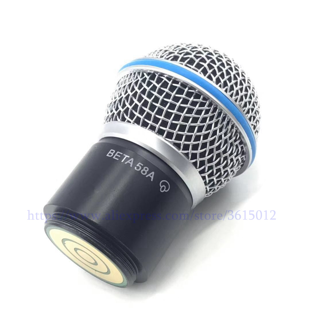 Professionelle Drahtlose Mikrofon Handheld Mic Beta 58a Kopf Kapsel Grill Für Pgx 24/slx 24 Gesundheit FöRdern Und Krankheiten Heilen Gott Boden Aktiv 2019 Neue
