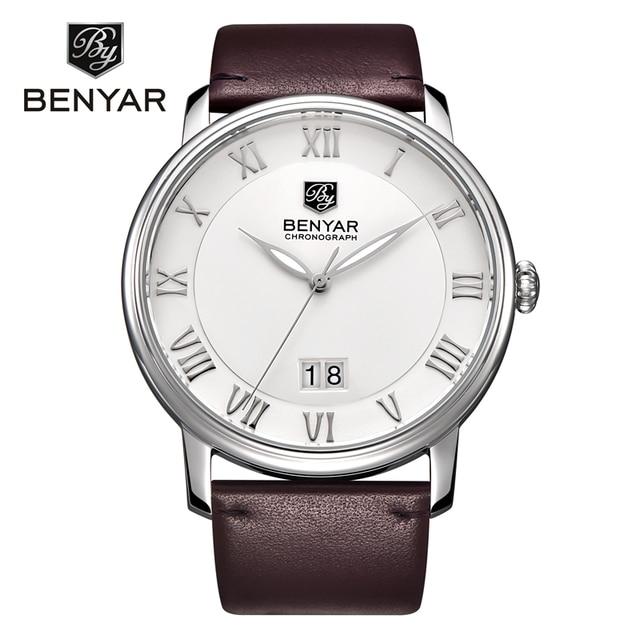 Reloj Hombre Mens Watches Top Brand Luxury Business Quartz Watch Man Leather Dress Wristwatch Clock Men 2017 Casual Montre Homme