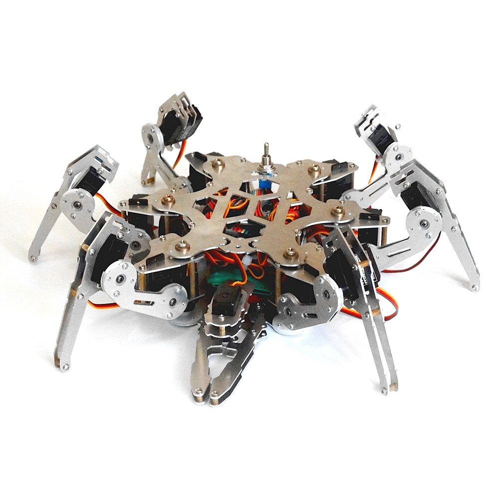 Arduino Programming Bionic Spider Robot 6 Foots Robot Large Torque Servo with Ps2 Controller programming scala scalability functional programming objects