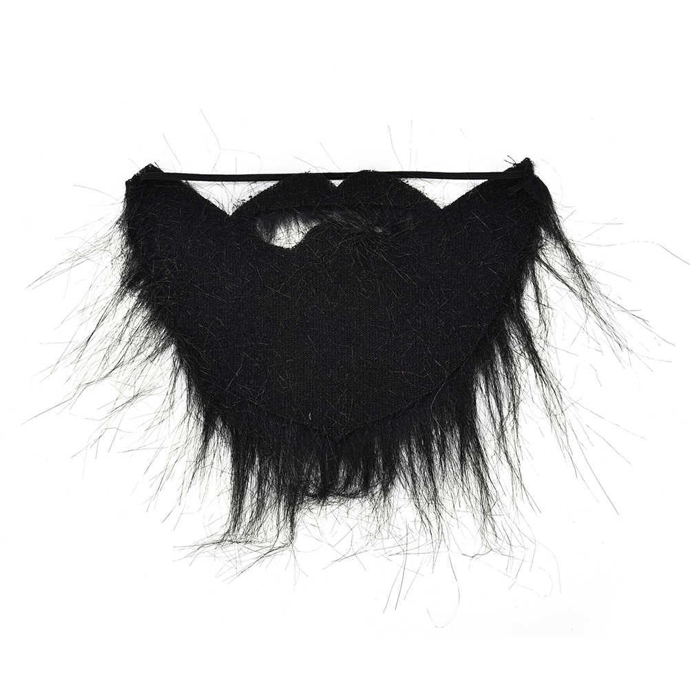 1 pc del Vestito Operato Pirata Nano Elf Falso Barba Baffi Partito Del Costume di Halloween Barba Baffi del Moustache Del Viso Capelli Travestimento