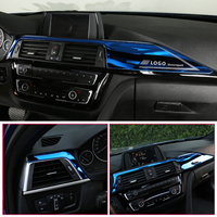 car air outlet For BMW F30 3 Series 2013- Car Styling Car AC Air Conditioner Vent Outlet Decoration interior Cover Sticker Auto Accessories (1)