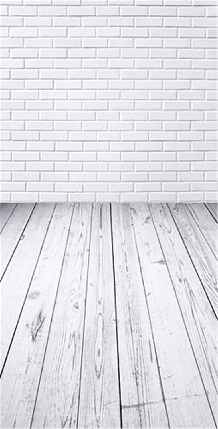 Photography Backdrops Pure White Brick Wall  for Baby Shower Backdrops Digital Photo Background Studio Props camera fotografica ashanks photography backdrops white screen 3 6m photo wedding background for studio 10ft 19ft backdrop for camera fotografica
