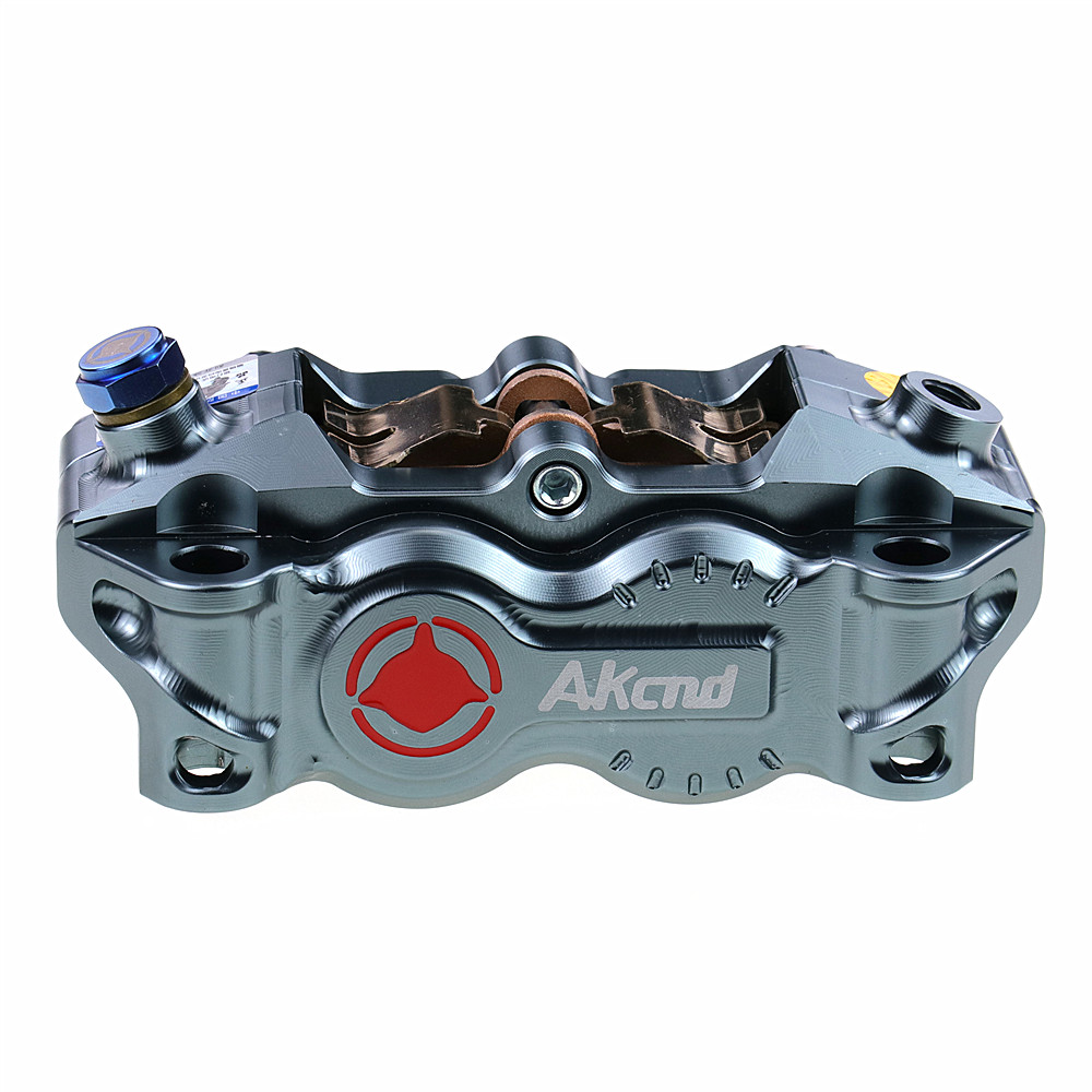 Akcnd Motorcycle Brake Caliper Brake Pump 100mm Mounting Radial Universal For Honda Yamaha Kawasaki Suzuki Modify