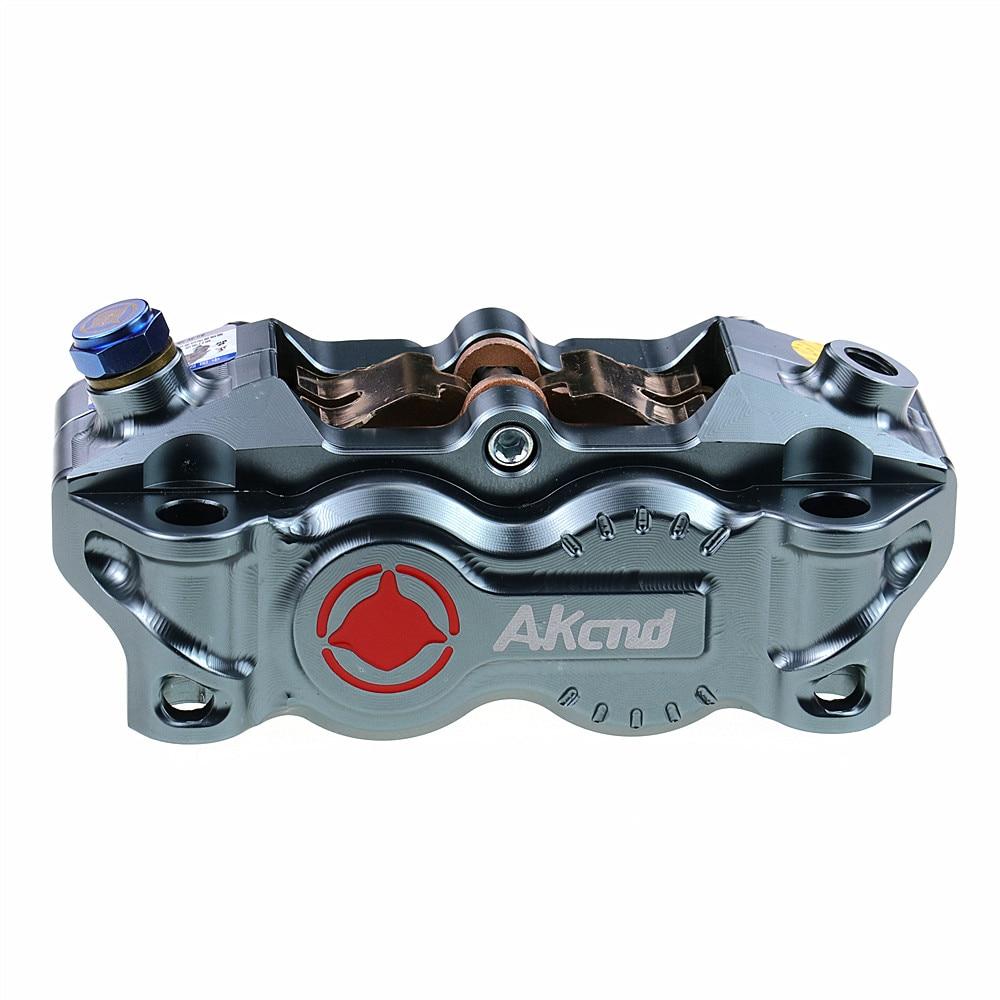 Akcnd Motorcycle Brake Caliper Brake Pump 100mm Mounting Radial Universal For Honda Yamaha Kawasaki Suzuki Modify