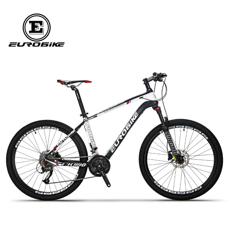 EUROBIKE carbon fibre bike 27 speed 26 inch wheel complete mountain bike image