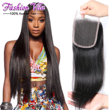brazilian virgin hair straight lace closure, 7A 100% human hair closure brazilian virgin hair closure,brazilian straight closure