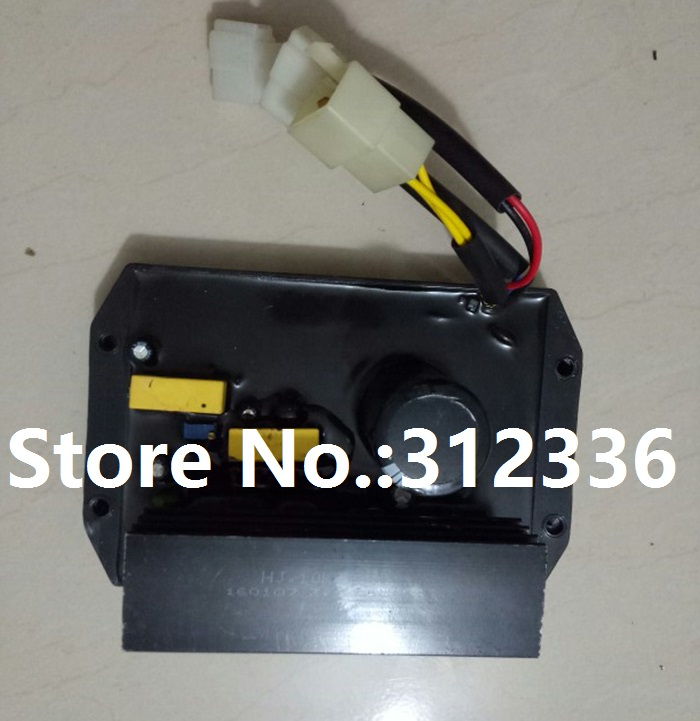 цена на Free shipping HJ.15K3P380 HJ 15K3P380 HJ15K3P380 Three Phase AVR Gasoline Generator 15kW spare parts Automatic Voltage Regulator