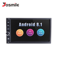 Авторадио 2 din Android 8,1 Автомобильный мультимедийный для Nissan Note Qashqai Xtrail Juke Almera головное устройство магнитофон gps навигации ГБ