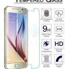 Новинка! 2.5D взрывозащищенная защитная пленка из закаленного стекла для samsung Galaxy S6 SM-G920F/SM-G920I/SM-G9200 защита экрана 9H
